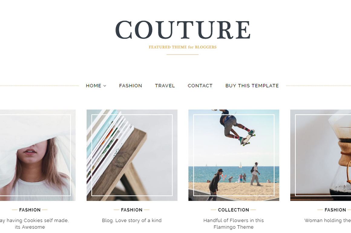couture theme